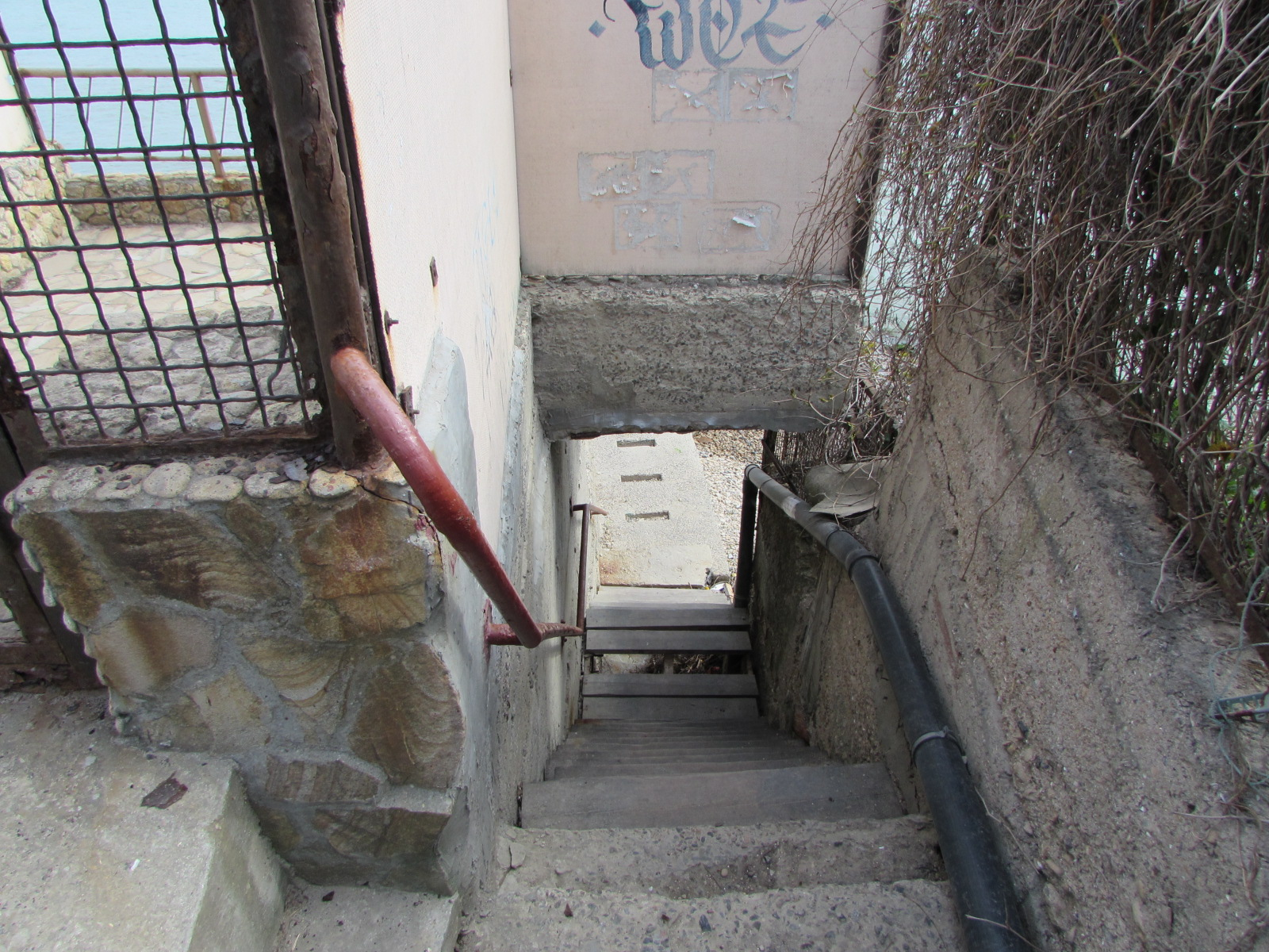Лестница к берегу