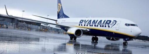 Лоукостер RyanAir сможет совершать 28 еженедельных рейсов между Италией и Украиной