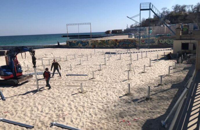 Как в Одессе пытались отнять участок пляжа «Золотой берег»