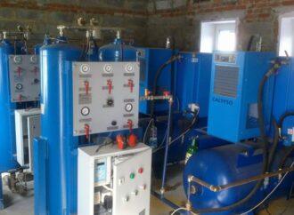 В Одесской области достраивают кислородную станцию для лечения пациентов с коронавирусом