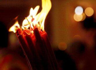 В Одесу з Єрусалиму привезли Благодатний вогонь (відео)