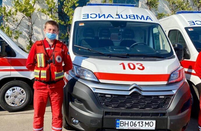 В Одеську область доставили 24 автомобілі екстреної допомоги
