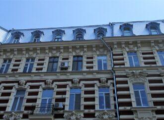 Одесский дом с атлантами: реставрация продолжается, но обновленный фасад уже без лесов