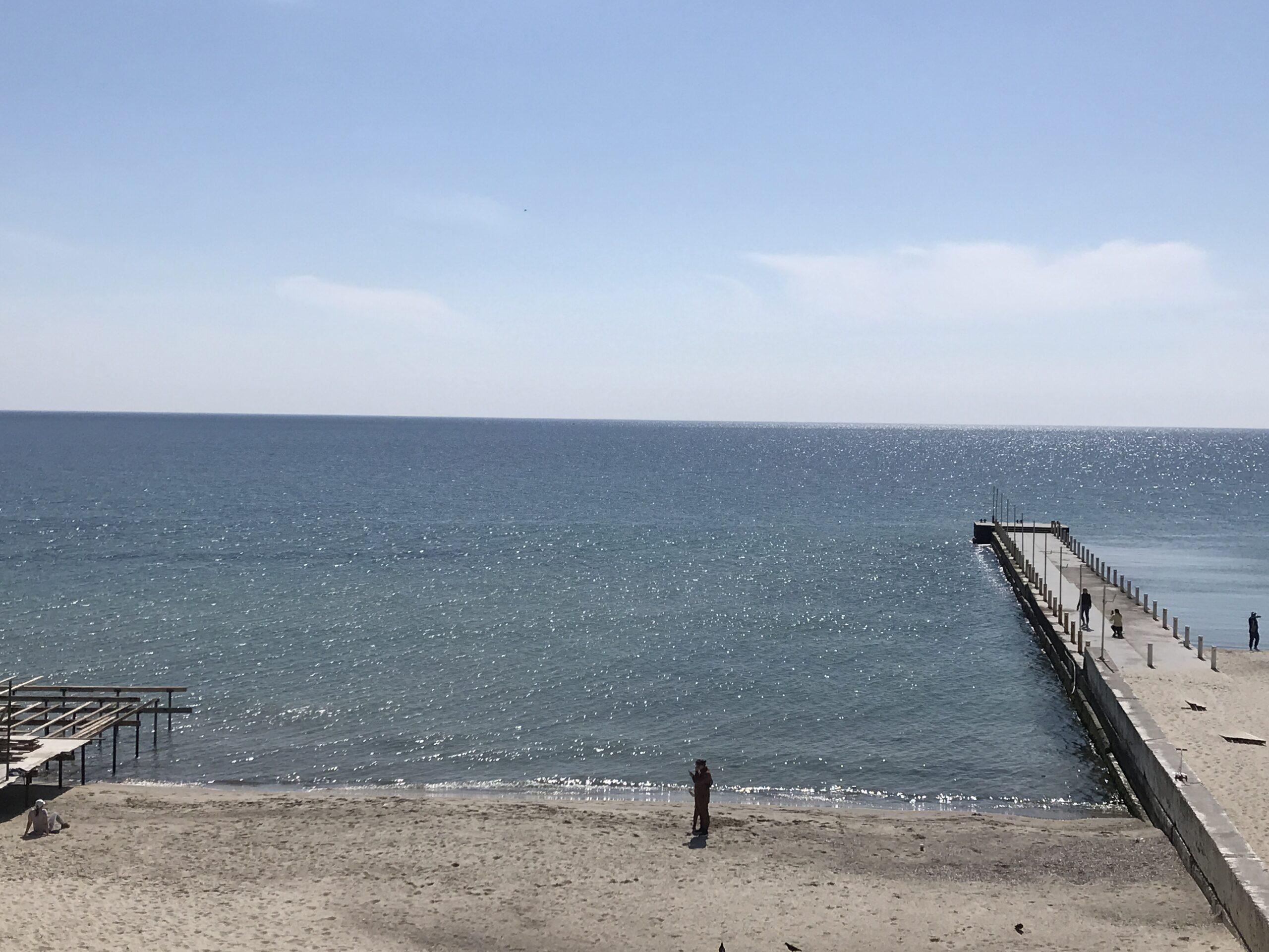 Пляж между Ибицей и Итакой