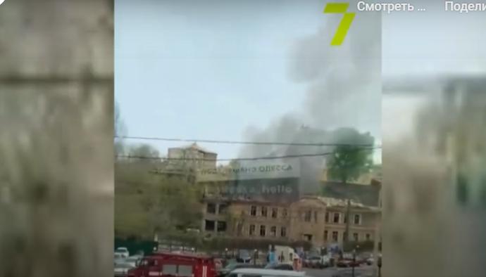Что произошло в Одессе 17 апреля: застройка Аркадии и пожар в старом доме
