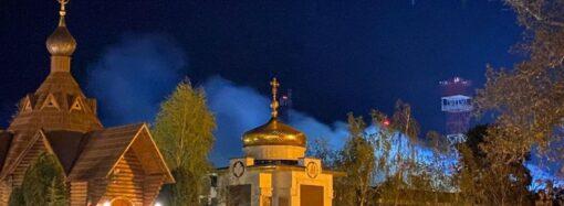 Пожар в одесском монастыре: правоохранители задержали предполагаемого поджигателя