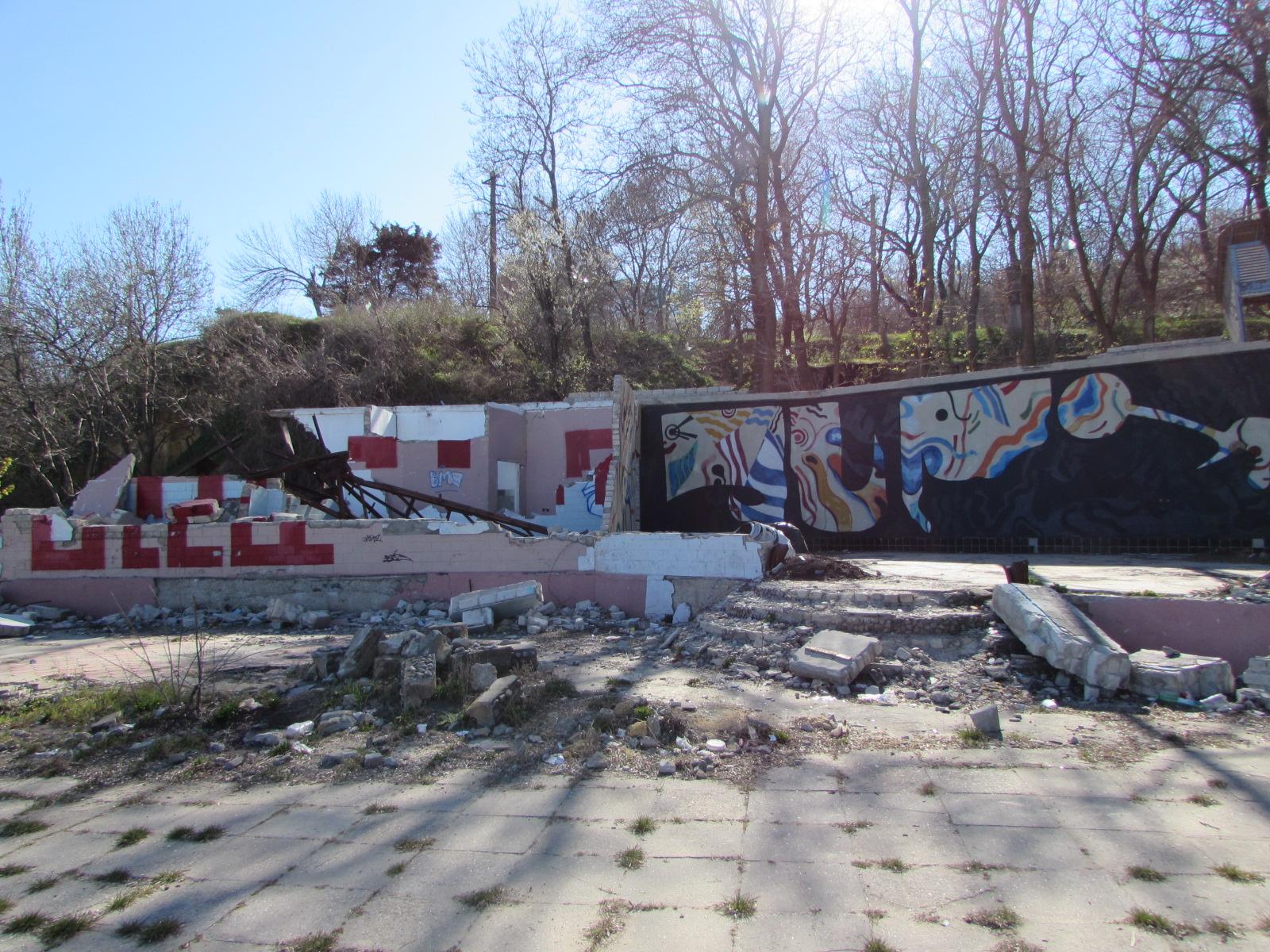 Разваленные домики