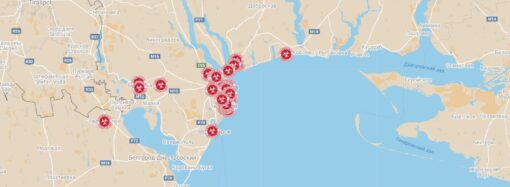 Карта распространения коронавируса: где в Одессе и области болеют больше всего