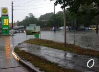 В Одесі через підтоплення не працює низка транспортних маршрутів