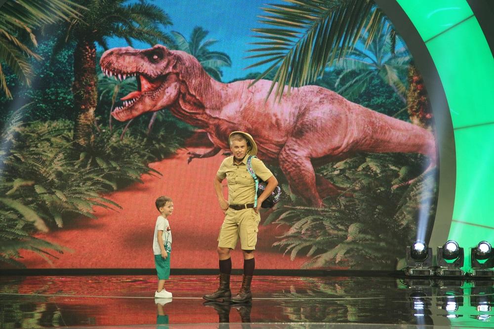знаток динозавров Клим Сайбел_