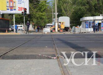 Ремонтируемый проспект на Таирова в Одессе частично открыли для проезда (фото)