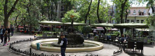 Встановлять пост охорони: сквер Пале-Рояль стане пішохідною зоною