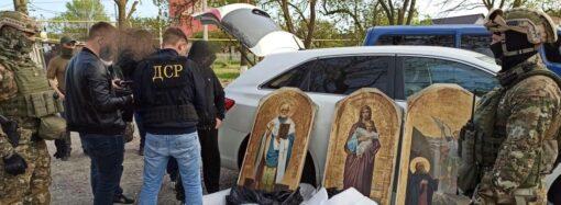 Викрадали ікони на Одещині: правоохоронці затримали міжрегіональну групу викрадачів(фото)