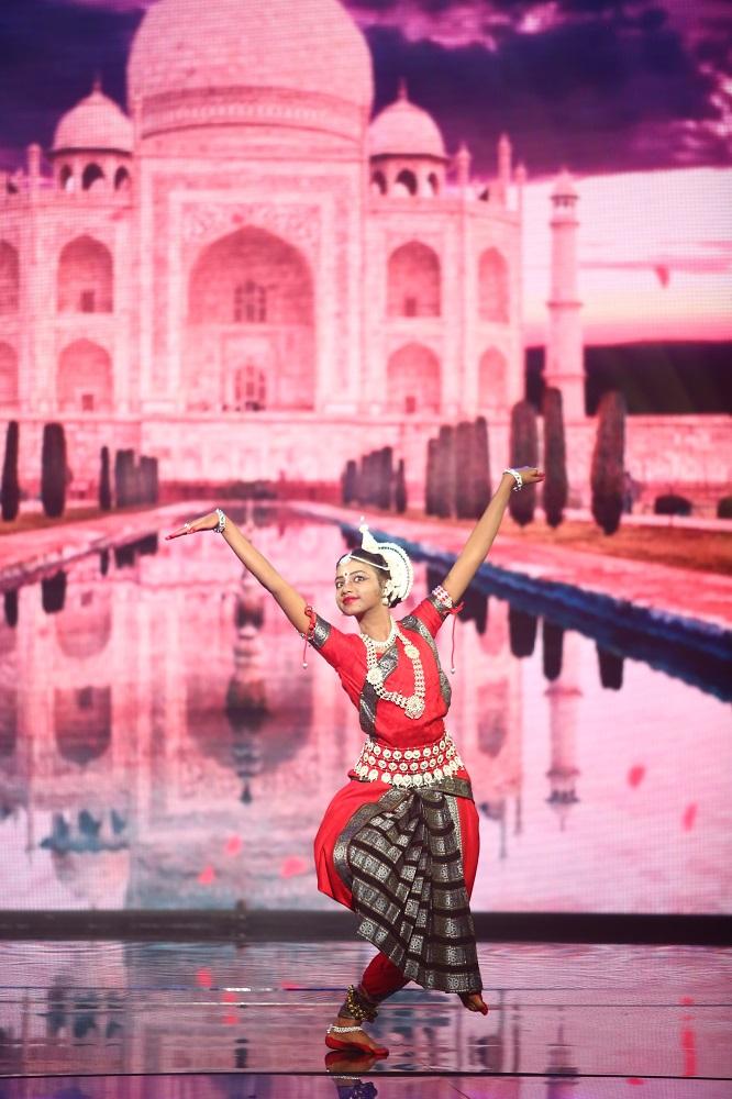 Сагника Наяк- индийские танцы