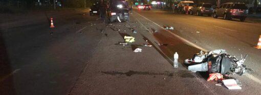 Під Одесою мопед зіткнувся з легковиком: загинув 10-річний хлопчик