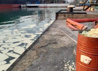 Викид пальмової олії у порту «Південний»: власник судна може заплатити 65 млн грн збитків