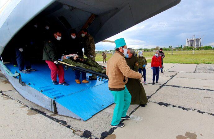 В Одессу доставили раненых бойцов из зоны боевых действий (фото)