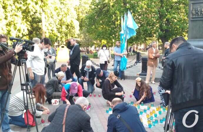 В Одесі вшанували пам'ять жертв депортації кримських татар (фото)