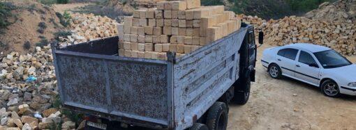 На Одещині припинили незаконний видобуток ракушняку (фото)