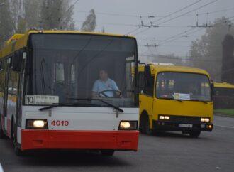 В Одесі в обхід обвалу на Торговій тимчасово запустять електробус