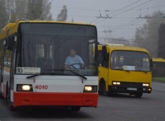 Троллейбус №2 уже работает в обычном режиме