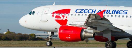 Czech Airlines анонсували відновлення рейсів в Одесу наприкінці травня