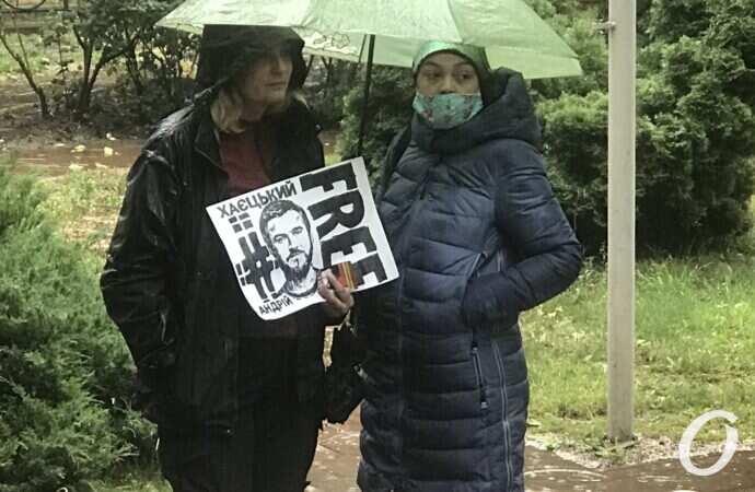 Освободили на поруки: Андрей Хаецкий выпущен на свободу (обновлено)