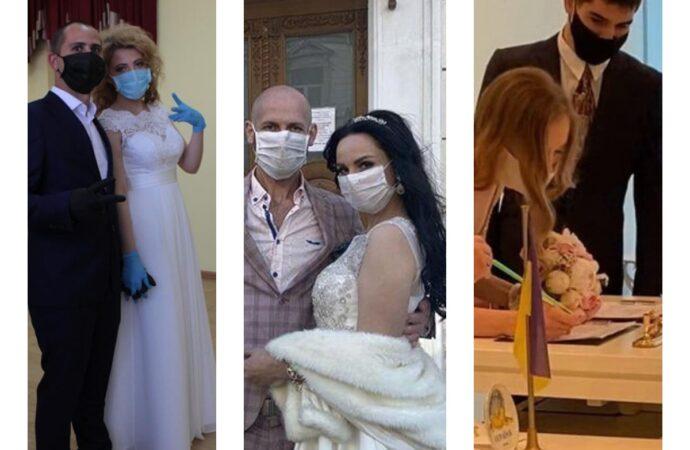Любви все вирусы покорны: как одесситы отгуляли свадьбу в карантин