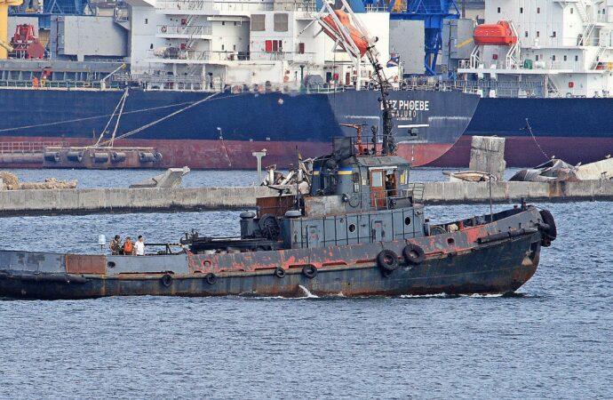 Після російського полону та тривалого ремонту буксир «Яни Капу» повернувся до Одеси (відео)