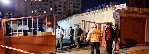 Ночное убийство в Одессе: полиция разыскивает преступника