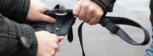 В Одессе задержали иностранца за грабеж