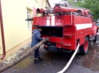 ЧП в Одесской области: из-за дождя и прорыва трубы затопило детский сад (фото)
