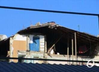 После обвала дома на Торговой власти Одессы задумались о расселении аварийных домов