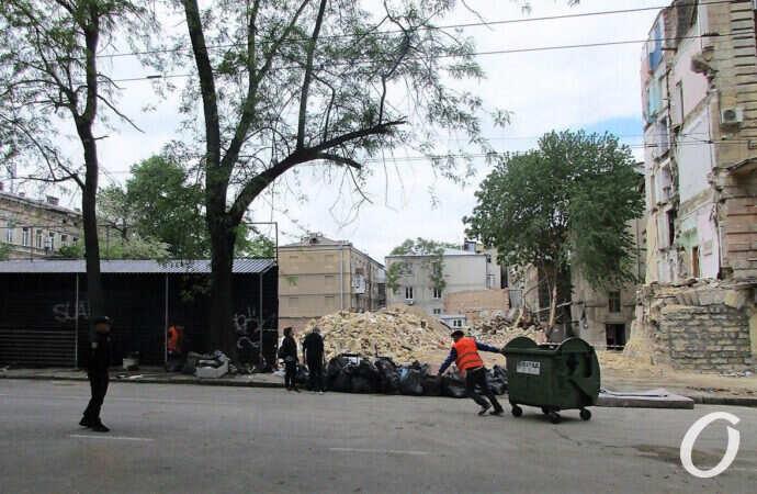 По следам одесских «карантинных» обвалов: нависшая тишина