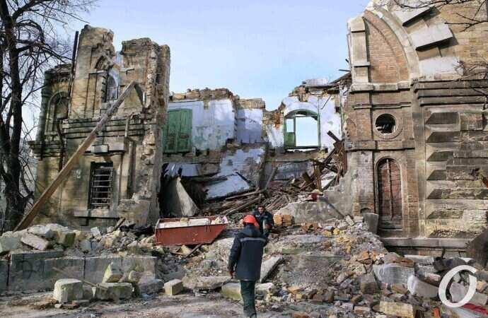 «Был ужасный грохот»: наша разрушающаяся Одесса