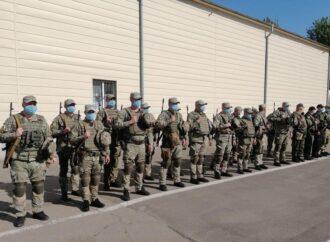 Бойцы одесского «Шторма» отправились обеспечивать безопасность на востоке Украины (видео)