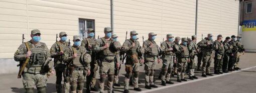 """Бойцы одесского """"Шторма"""" отправились обеспечивать безопасность на востоке Украины (видео)"""