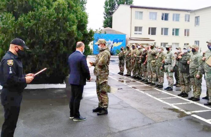 В Одессе наградили бойцов «Шторма», вернувшихся из зоны проведения ООС (фото)
