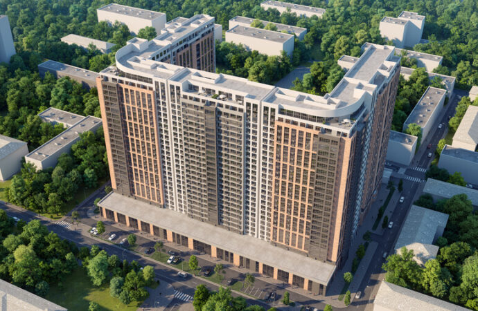 """В Одесі на місці згорілого пивзаводу """"Гамбринус"""" таки розпочали будувати житловий комплекс (фото)"""