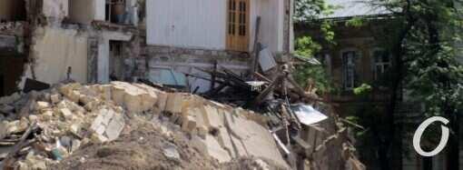 Одеські рятувальники показали, як ліквідували наслідки руйнування будинку на Торговій (відео)