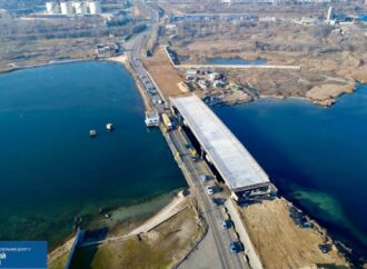 Добудують швидше: міст через Сухий лиман передали на баланс Служби автомобільних доріг в Одеській області