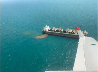 За викид нечистот в акваторію Чорного моря капітана судна оштрафували на 17 тис грн