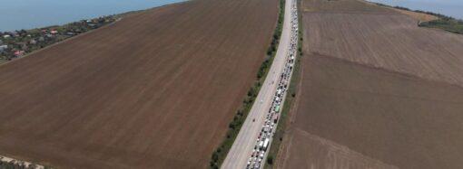 Як об'їхати багатокілометровий затор у напрямку Одеси? (схема руху)