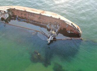 З танкера Delfi зафіксували витік нафтопродуктів (відео)
