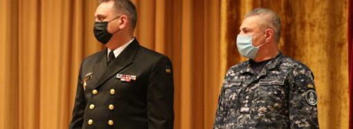 В Одесі призначили командувача Військово-Морських Сил Збройних Сил України