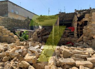 Два обвала в Одессе за одну ночь: в переулке Ушинского рухнула стена сарая