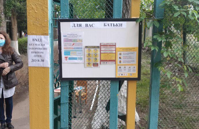 Проверка температуры и масочный режим: как в Одессе работают детские сады после карантина?