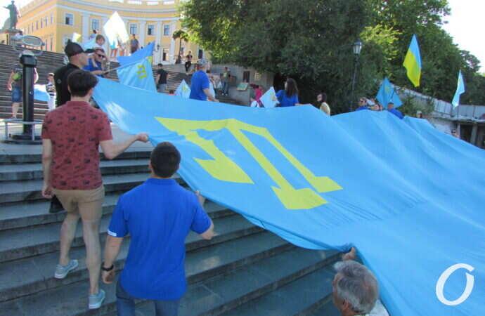День крымскотатарского флага: как этот праздник отметили в Одессе?