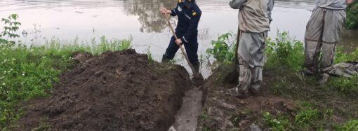 Непогода: ливень затопил село в Одесской области (фото)