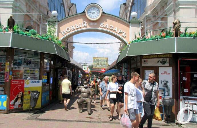«Новый» карантин в Одессе: что происходит на Новом базаре? (фото)
